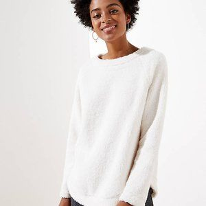 LOFT Women's NWT Fleece Sweatshirt